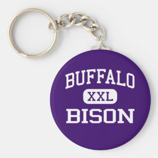 Buffels - Bizon - Middelbare school - Buffels Minn Basic Ronde Button Sleutelhanger