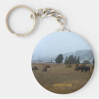 Buffels Geweldige Keychain Sleutelhanger