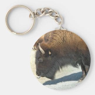 Buffels Keychain Basic Ronde Button Sleutelhanger