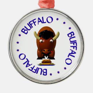 Buffels met Rundvlees op de Vleugels van Weck en Kerst Ornamenten