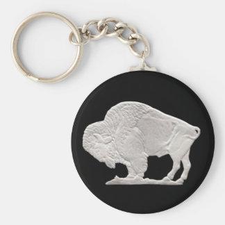buffels nikkel sleutelhanger