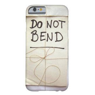Buig Hand geen Van letters voorzien Document Barely There iPhone 6 Hoesje