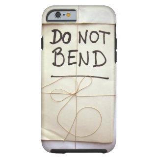 Buig het Hand geen Van letters voorzien Pakket Tough iPhone 6 Hoesje