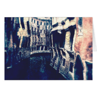 Buigende Kanalen van Venetië Kaart