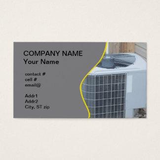 buiten warmtepomp visitekaartjes