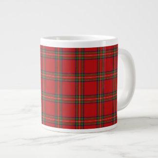 Buitengewoon brede Koninklijke Stewart Tartan Grote Koffiekop