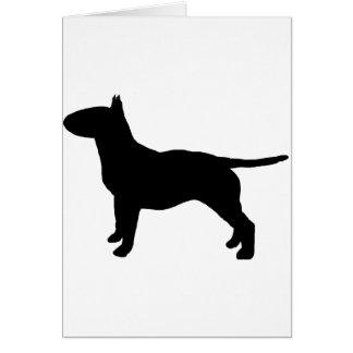 bull terrier wenskaart