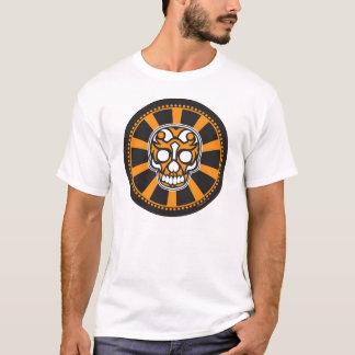 bullseye zonnestraalschedel t shirt