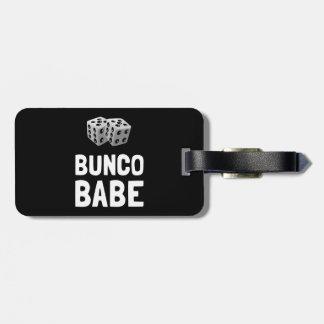Bunco Babe dobbelt Bagagelabel