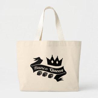Bunco Koningin Crown en dobbelt Lint Grote Draagtas