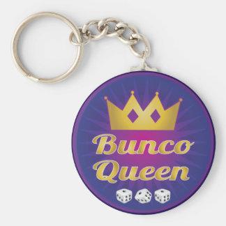 Bunco Koningin Crown en dobbelt Sleutelhanger