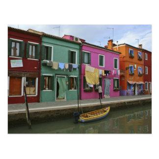 Burano, Italië Briefkaart