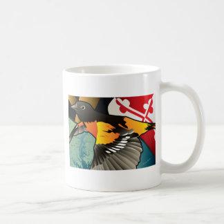 Burger Oriole, de Vogel van de Staat van Maryland Koffiemok