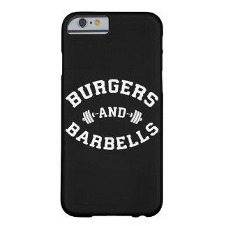 Burgers en Barbells - het Opheffen de Motivatie Barely There iPhone 6 Hoesje