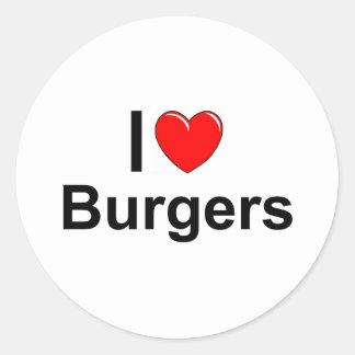 Burgers Ronde Sticker