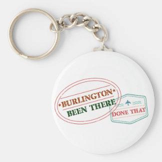 Burlington daar gedaan dat sleutelhanger