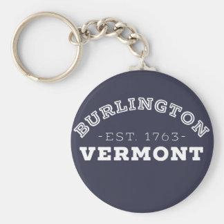 Burlington Vermont Sleutelhanger