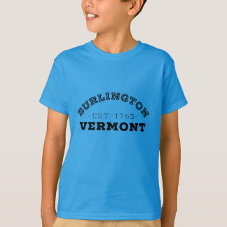 Burlington Vermont T Shirt