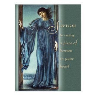 Burne-Jones het Troosten van de Nacht CC0562 Briefkaart