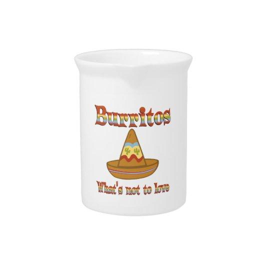 Burritos aan Liefde Drank Pitchers