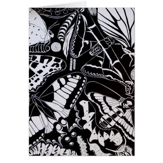 butterflies kaart