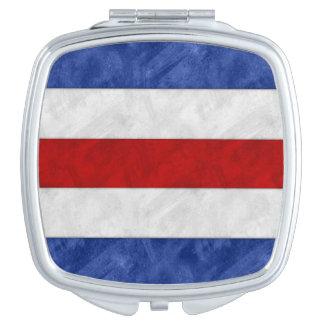 C Charlie Watercolor Nautical Signal Maritime Vlag Reisspiegeltje