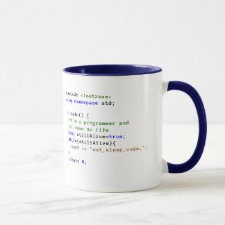 C++ De oneindige Lijn eet, Slaap, en de Mok van de