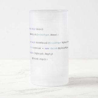 C de Scherpe Mok van het Bier van Programmeurs