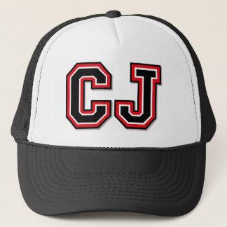 C J Monogram Trucker Pet