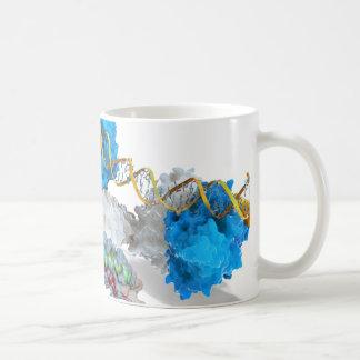 c-Myc en Inkeping die DNA binden Koffiemok
