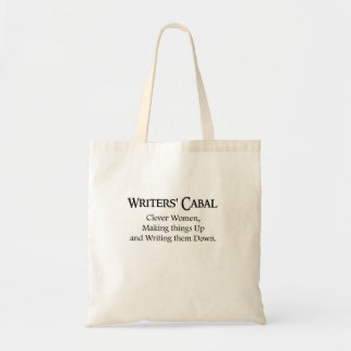 Cabal van schrijvers budget draagtas
