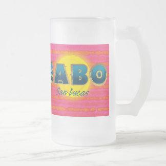 Cabo 3 de Berijpte Mok van het Glas