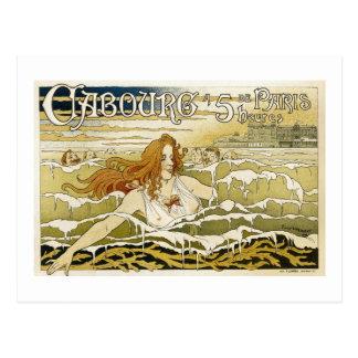 Caboure - Parijs - Vintage Franse Reclame Briefkaart