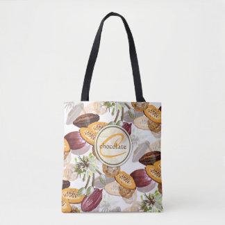 Cacaobonen, de Bloemen van de Chocolade, de Giften Draagtas