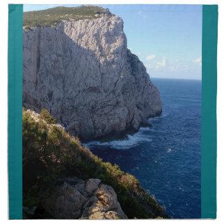 Caccia van Capo, alghero, Sardinige, Italië Servet