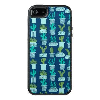 Cactus Blauwe Succulente Terrarium/Andrea Lauren OtterBox iPhone 5/5s/SE Hoesje