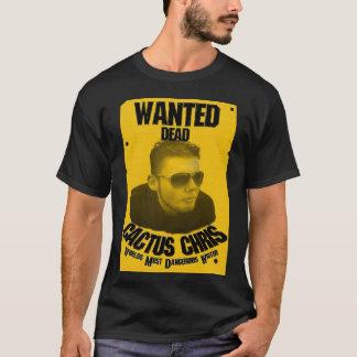 Cactus Chris: Gewilde Doden T Shirt
