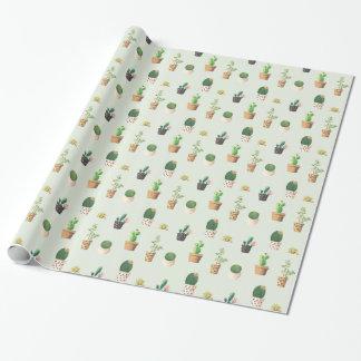 Cactus en Plant Inpakpapier