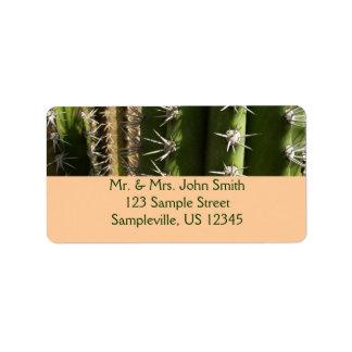 Cactus II van het vat de Foto van de Natuur van de Etiket