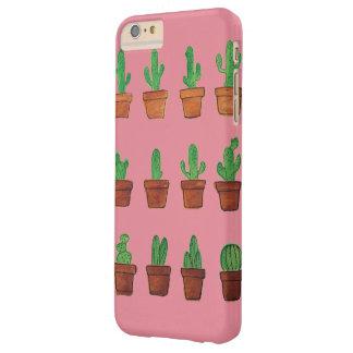 Cactus op het Roze Hoesje van de Telefoon