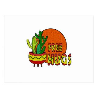 Cactus - vrije omhelzingen briefkaart