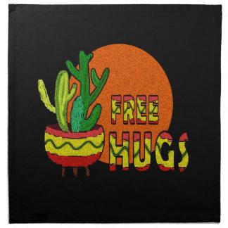 Cactus - vrije omhelzingen servet