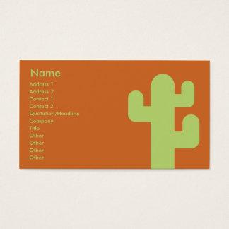 Cactus - Zaken Visitekaartjes
