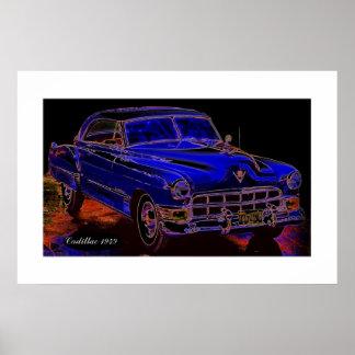 Cadillac 1949 poster