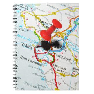 Cadiz, Spanje Ringband Notitieboek