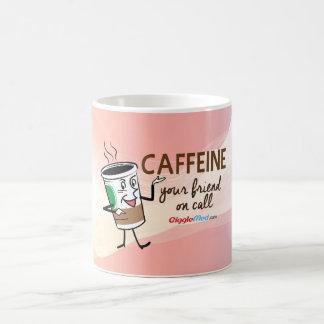 Cafeïne, Uw Vriend op Vraag Magische Mok