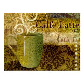 Caffe Latte Briefkaart