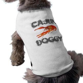 Cajun-rivierkreeft-van een hond t-shirt
