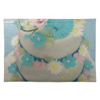 Cake 1 van de verjaardag placemat