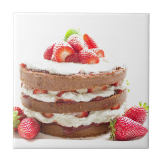 cake keramisch tegeltje
